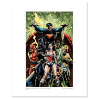 """Justice League"" Limited Edition 20x16 Giclee from DC Comics & David Finch"