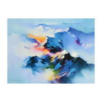 "H. Leung Signed ""Celestial Vista"" Limited Edition 35x26 Giclee on Canvas at PristineAuction.com"