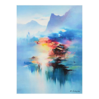 "H. Leung Signed ""Twilight Mist II"" Limited Edition 36x24 Giclee on Canvas at PristineAuction.com"