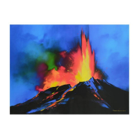 "Thomas Leung Signed ""Volcanic Majesty"" Limited Edition 40x30 Giclee on Canvas at PristineAuction.com"