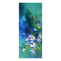 "Thomas Leung Signed ""Spring Bouquet"" Limited Edition 20x48 Giclee on Canvas at PristineAuction.com"
