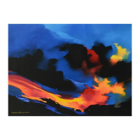 "Thomas Leung Signed ""Fire Surf"" Limited Edition 40x30 Giclee on Canvas at PristineAuction.com"