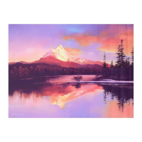 "H. Leung Signed ""Mt. Washington Sunset"" Limited Edition 40x30 Giclee on Canvas at PristineAuction.com"