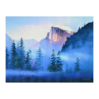 "H. Leung Signed ""Yosemite Morning"" Limited Edition 40x30 Giclee on Canvas at PristineAuction.com"