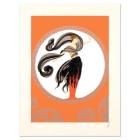 "Erte Signed ""Flames of Love"" Limited Edition 21x27 Serigraph from an AP Edition at PristineAuction.com"