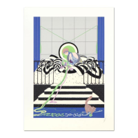 "Erte Signed ""Parasseuse"" Limited Edition 23x31 Serigraph from an AP Edition at PristineAuction.com"