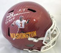 "Joe Theismann Signed Washington Redskins Full-Size Hydro Dipped Speed Helmet Inscribed ""83 MVP"" (Beckett COA)"