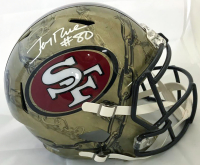 Jerry Rice Signed San Francisco 49ers Full-Size Hydro Dipped Speed Helmet (Beckett COA)