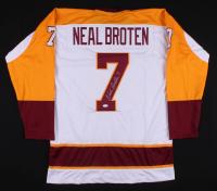 Neal Broten Signed Minnesota Golden Gophers Jersey (TSE COA)