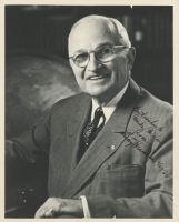 """Harry Truman Signed 8x10 Photo Inscribed """"Best Wishes to"""" & """"6/27/62"""" (Beckett LOA)"""