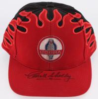 Carroll Shelby Signed Cobra Logo Hat (Beckett LOA)