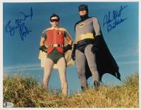 "Adam West & Burt Ward Signed ""Batman"" 11x14 Photo Inscribed  ""Batman"" & ""Robin"" (Beckett COA)"