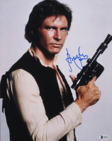 "Harrison Ford Signed ""Star Wars"" 11x14 Photo (Beckett LOA)"
