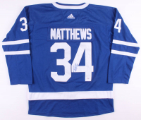 Auston Matthews Signed Toronto Maple Leafs Jersey (PSA COA)
