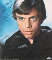 "Mark Hamill Signed ""Star Wars"" 14x16.5 Photo Inscribed ""I'm Here To Rescue You!"" (Beckett LOA)"