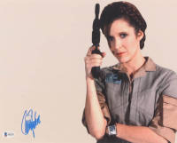 "Carrie Fisher Signed ""Star Wars"" 11x14 Photo (Beckett LOA) at PristineAuction.com"