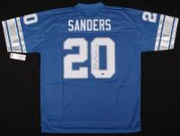 Barry Sanders Signed Detroit Lions Jersey (Schwartz COA)