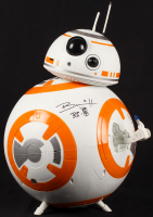 """Brian Herring Signed Disney """"Star Wars"""" Big-Figs Deluxe 18"""" BB-8 Figure Inscribed """"BB-8"""" with Hand-Drawn BB-8 Sketch (PA COA) at PristineAuction.com"""