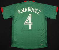 Rafael Marquez Signed Mexico Jersey (Beckett COA) at PristineAuction.com