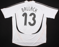 Michael Ballack Signed Team Germany Jersey (Beckett COA)