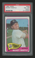 1965 Topps #350 Mickey Mantle (PSA 8) (MC)
