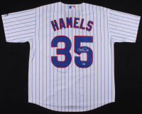 Cole Hamels Signed Chicago Cubs Jersey (Beckett COA) at PristineAuction.com