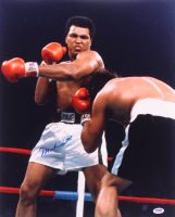 Muhammad Ali Signed 16x20 Photo (PSA LOA) at PristineAuction.com