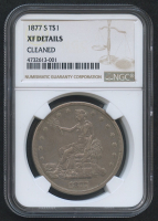 1877-S Trade Silver Dollar (NGC XF Details)