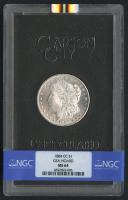 1884-CC $1 Morgan Silver Dollar (NGC MS 64)