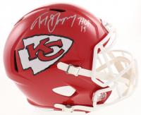 "Tony Gonzalez Signed Kansas City Chiefs Full-Size Speed Helmet Inscribed ""HOF 19"" (Beckett COA)"