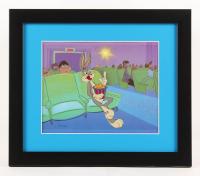 "Warner Bros. ""Bugs Bunny At The Movies"" 13x15 Custom Framed Animation Serigraph Display"