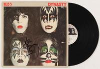 "Ace Frehley Signed KISS ""Dynasty"" Vinyl Record Album With Inscription (JSA COA)"