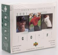 2001 Upper Deck Golf Retail Box of (24) Packs