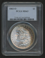 1883-O Morgan Silver Dollar (PCGS MS63) (Toned)