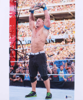 John Cena Signed WWE 10x12 Photo (Beckett COA)