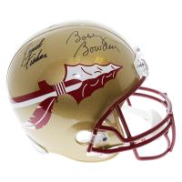 Jimbo Fisher & Bobby Bowden Signed Florida State Seminoles Full-Size Helmet (PSA COA)