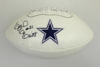 Ezekiel Elliott Signed Dallas Cowboys Logo Football (Beckett COA)