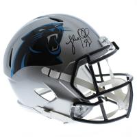 Luke Kuechly Signed Carolina Panthers Full-Size Speed Helmet (JSA COA)