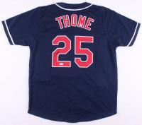 Jim Thome Signed Cleveland Indians Jersey (JSA COA)