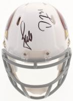 Larry Fitzgerald & David Johnson Signed Arizona Cardinals Speed Mini-Helmet (PSA COA)
