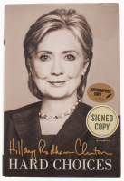 "Hillary Clinton Signed ""Hard Choices"" Hardcover Book (JSA COA)"