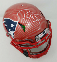 Tom Brady Signed New England Patriots Limited Edition Custom Hydro Dipped Full-Size Authentic On-Field Helmet with Visor (Tristar Hologram & Steiner Hologram)