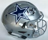 Amari Cooper Signed Dallas Cowboys Full-Size Authentic On-Field Speedflex Helmet (Beckett COA)