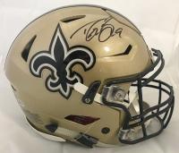 Drew Brees Signed New Orleans Saints Full-Size Authentic On-Field Speedflex Helmet (Beckett COA)