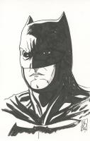 "Tom Hodges - Batman - DC Comics - Signed ORIGINAL 5.5"" x 8.5"" Color Drawing on Paper (1/1) at PristineAuction.com"