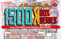 """MYSTERY 1500X SERIES"" A True Sports Card Mystery Box!"