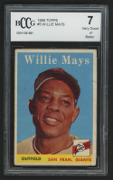 1958 Topps #5 Willie Mays (BCCG 7)