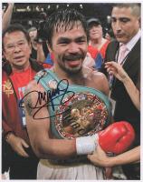 Manny Pacquiao Signed 8x10 Photo (Pacquiao COA)