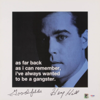 "Henry Hill Signed ""Goodfellas"" 16x16 Photo Inscribed ""Goodfella"" (PSA COA & Hill Hologram)"