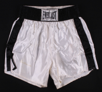 Muhammad Ali Signed Everlast Boxing Trunks (JSA LOA) at PristineAuction.com